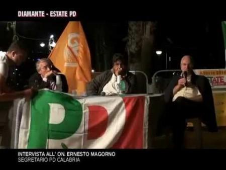Intervista al Segretario PD Calabria – On. ERNESTO MAGORNO