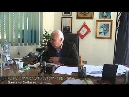 Porto di Diamante: Conferenza stampa del Sindaco GAETANO SOLLAZZO