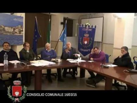 Consiglio Comunale Diamante – 16/03/2015