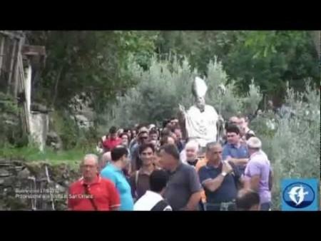 Buonvicino: Processione di San Ciriaco