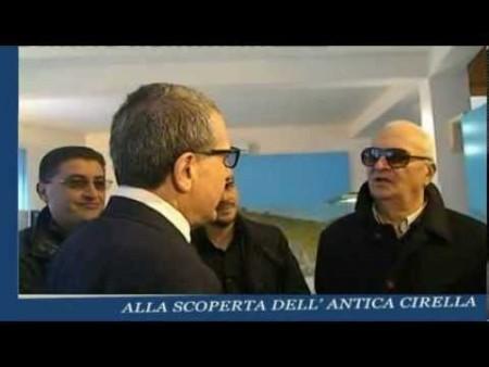 CALIGIURI visita la nuova struttura museale a Cirella