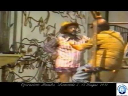 Diamante Operazione Murales – Giugno 1981