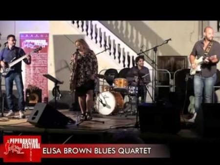 ELISA BROWN BLUES QUARTET- Peperoncino Jazz Festival