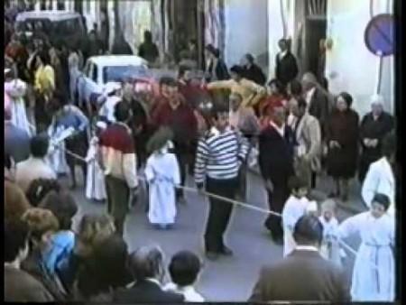 Processione sabato Santo 1982