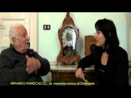 Intervista ad Armando Maniscalco…la memoria storica di Diamante