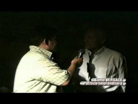 Intervista a SANTO VERSACE