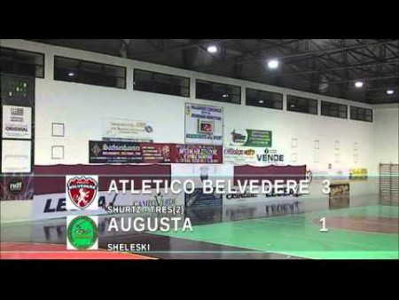 Calcio a 5: Atletico Belvedere vs Augusta