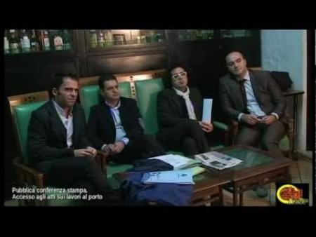 Conferenza stampa lavori del porto: interviene On. MIMMO TALARICO