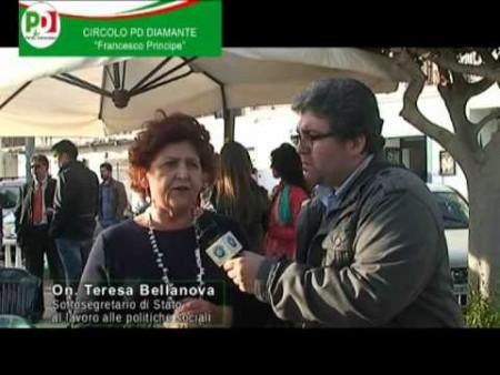 Diamante: interviste al Sottosegretario On.Bellanova e On. Guccione