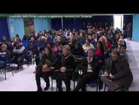 Crisi Terme Luigiane, lavoratori incontrano sindacati- interviste