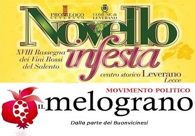 """Buonvicino:Il Movimento il Melograno al """"Novello in Festa"""" di Leverano"""