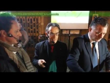 Festa della raccolta Santa Maria del Cedro-immagini e intervista al Pres. Mario Oliverio