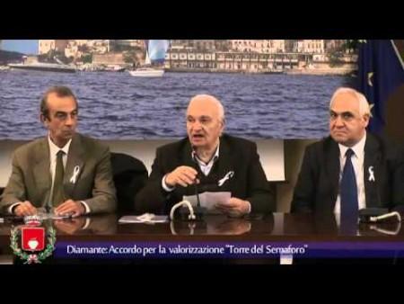 """Diamante: Accordo Valorizzazione """"Torre del Semaforo"""""""