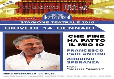 Diamante: Francesco Paoloantoni apre la stagione teatrale