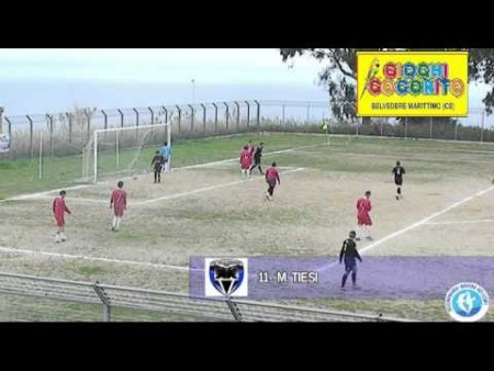 Calcio 3cat.- Virtus Diamante- Real Verbicaro- 5-0 Sintesi