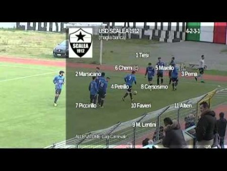 USD Scalea- Brancaleone 1-1 – sintesi e interviste