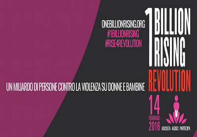 Tortora partecipa a One Billion Rising 2016