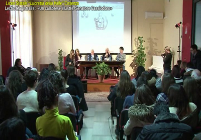 """Cosenza: Conferenza al Liceo sul """"Calabrese illustre, Cassiodoro"""""""