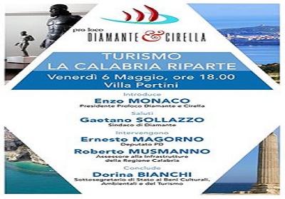 """Diamante: Convegno """"Turismo. La Calabria riparte"""" organizzato dalla Pro Loco"""