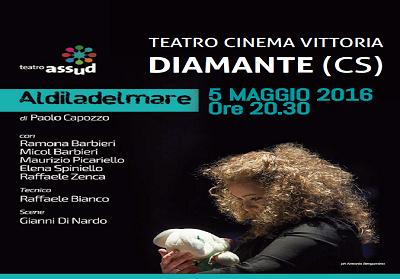 """Diamante: Teatro e solidarietà con lo spettacolo """"AldilaDelMare"""""""