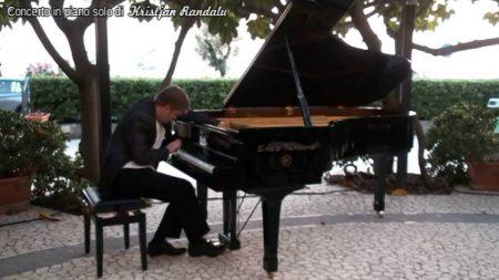 Diamante: Concerto in piano solo di Kristjan Randalu (pianista estone)