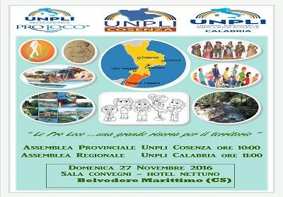 Belvedere: Assemblea Unpli-Pro Loco, per programmare uno sviluppo socio-culturale