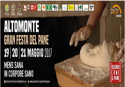 """Altomonte: Al via la tre giorni della """"Gran Festa del Pane"""""""