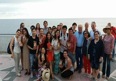 In visita a Diamante una delegazione dei più importanti tour operator, giornalisti e blogger cinesi