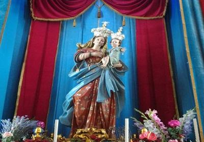 Verbicaro festeggia i 300 anni della Madonna delle Grazie, si rinnovano i riti dell'l'Infiorata e dei Zigni