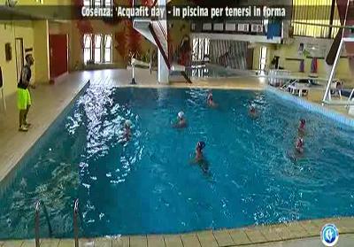 Cosenza. Si è conclusa l'Acquafit Day, iniziativa dedicata all'attività ginnica in acqua