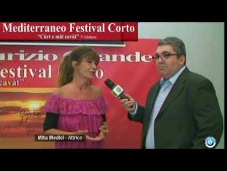 Intervista all'attrice Mita Medici, ospite del Mediterraneo Festival Corto