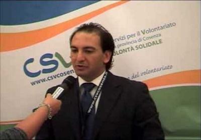 Antonello Grosso La Valle eletto nel Consiglio direttivo del CSV Cosenza