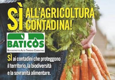Baticòs promuove la legge per l'Agricoltura Contadina con un convegno a Cirella