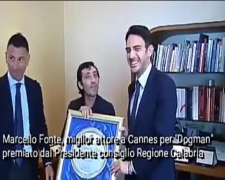 Marcello Fonte, miglior attore a Cannes premiato dal consiglio Regionale- interviste