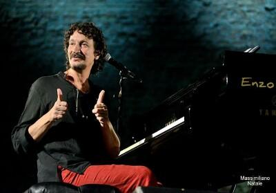 Sergio Cammariere in concerto al Teatro dei Ruderi di Cirella