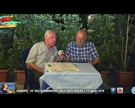 Diamante: 90° dell'Incoronazione dell'Immacolata-intervista a Don Michele