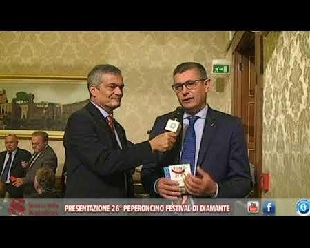 Il 26° Peperoncino Festival presentato in Senato- Interviste e conferenza stampa
