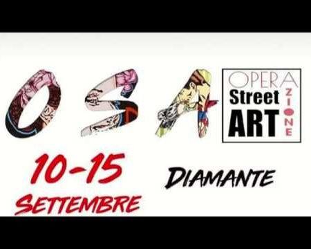 Diamante: Presentazione di OSA- Operazione Street Art