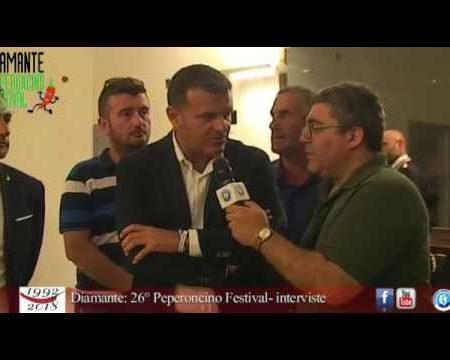 Diamante: 26° Peperoncino Festival-interviste