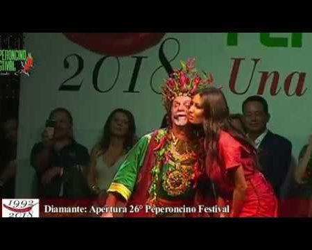 Diamante: Elisabetta Gregoraci e il Ministro Centinaio inaugurano il 26° Peperoncino Festival
