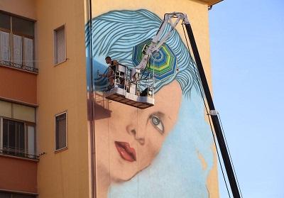Diamante: Grande interesse per l'Operazione Street Art, festival dedicato all'arte urbana