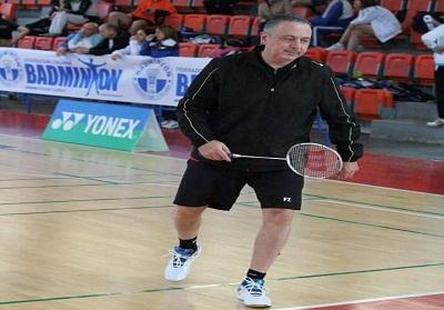 Il calabrese Mauro Filippelli in Nazionale per i Campionati Europei Over di Badminton in Spagna