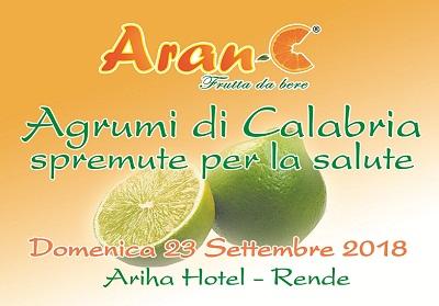 """A Rende un convegno dal titolo """"Agrumi di Calabria, spremute per la salute"""""""