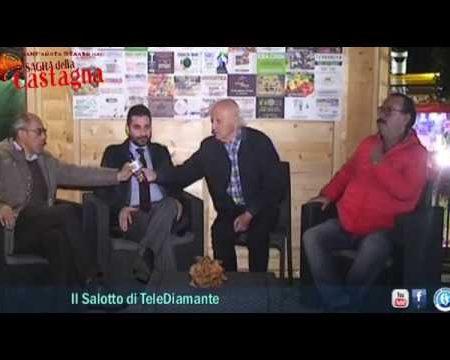 44^ Sagra della Castagna di Sant'Agata D'Esaro (Cs)-servizio-intervsite