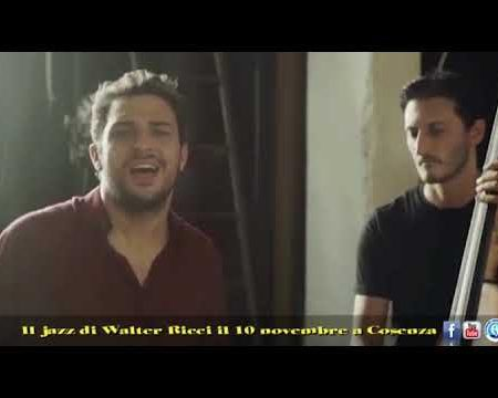 Il jazz di Walter Ricci il 10 novembre a Cosenza -interviste