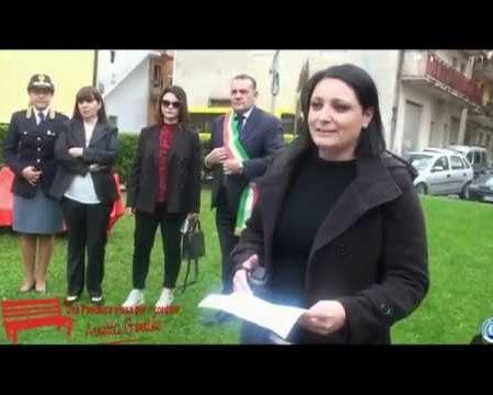 Marcellina: Femminicidio, una panchina rossa per ricordare Annetta Gentile