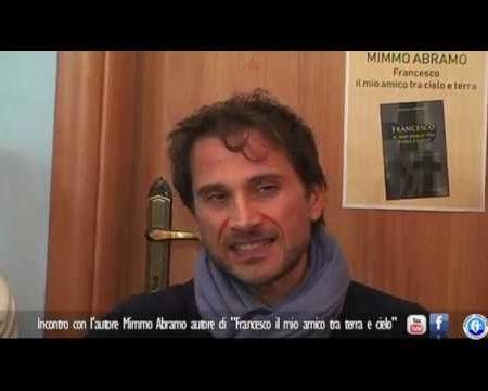 """Belvedere M.mo: Incontro con Mimmo Abramo autore del libro """"Francesco il mio amico tra terra e cielo"""""""