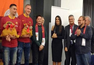 L'Accademia del peperoncino protagonista della cena nataliziatra Unione Tifosi Romanisti eAs Roma