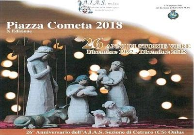 """A.I.A.S. Cetraro: Si rinnova """"Piazza Cometa"""", la manifestazione di chiusura dell'anno Sociale"""