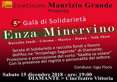 """Diamante: Cinema e impegno sociale al """"Gran Galà di Solidarietà Enza Minervino"""""""